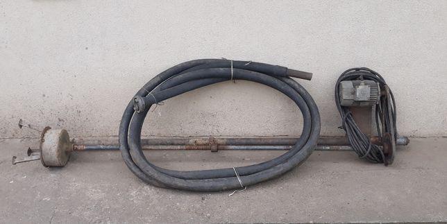 Pompa do brudnej wody szamba dobra robota wężem ok 15-20m Sprawne