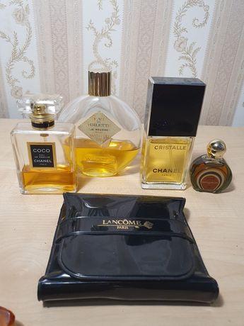 Винтаж  парфюм Шанель CHANEL COCO, CRISTALLE, Амулет, Lancome пудра