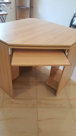 Biurko narożne z półką