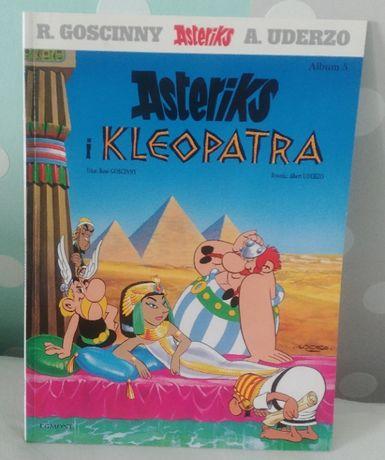 ASTERIKS i KLEOPATRA Rene Goscinny jak nowy Asterix