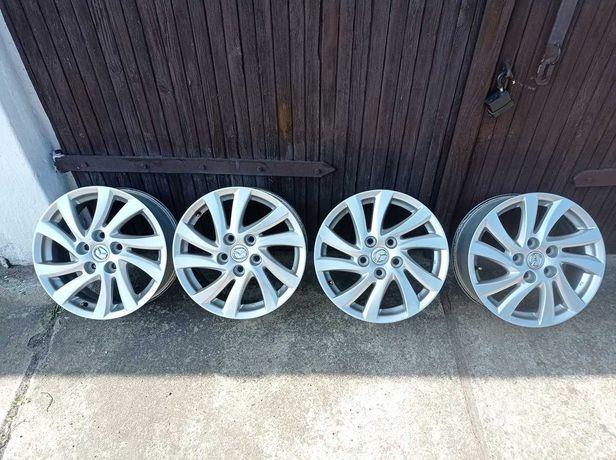 Felgi aluminiowe Mazda 16'  5x114,3  Oryginał, Stan idealny