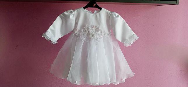 sukienka do chrztu r62
