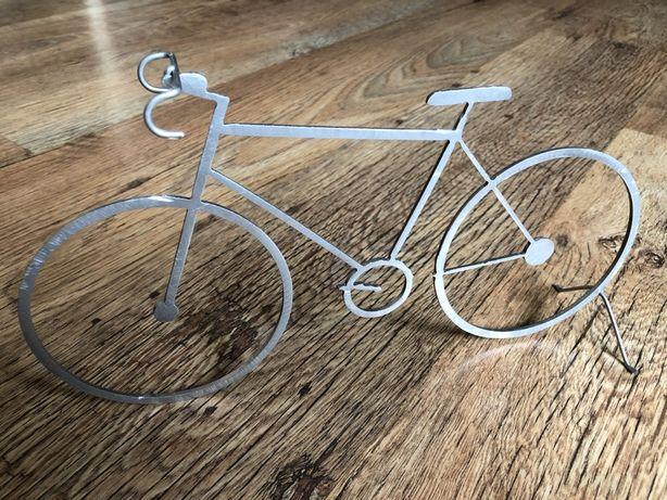 Decor rower metalowy