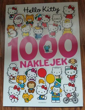 Hello Kitty 1000 naklejek, zadania i labirynty dla miłośników