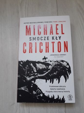 """Smocze kły"" Michael Crichton"