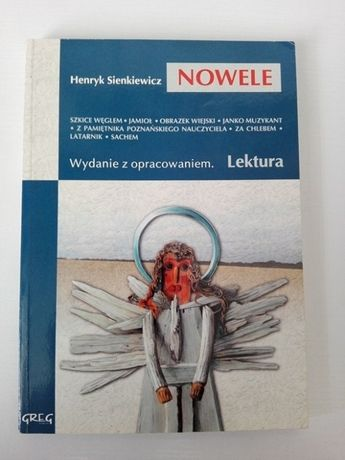 Nowele Henryk Sienkiewicz wydanie z opracowaniem !!