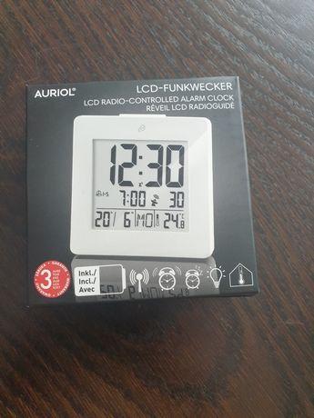 Budzik LCD sterowany radiowo