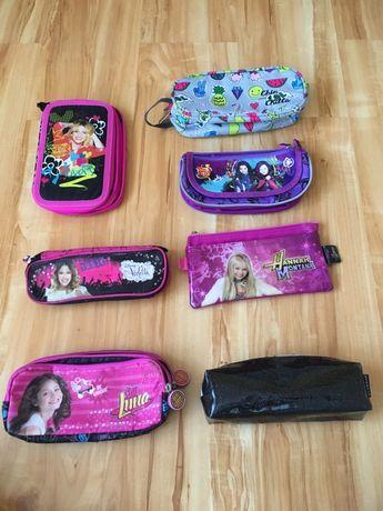 Piórniki dla dziewczynki