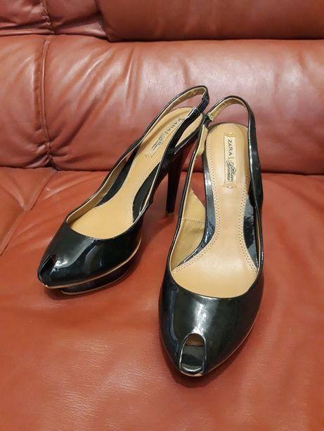 Zara на платформе и каблук