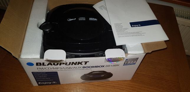 radioodtwarzacz Blaupunkt BB18BK BOOMBOX