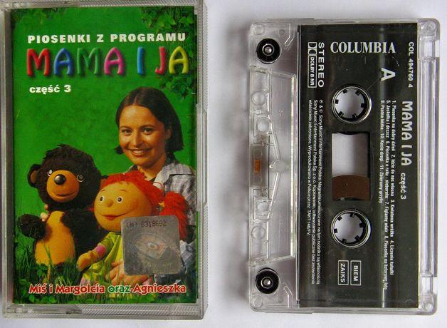kaseta MAMA I JA Miś i Margolcia oraz Agnieszka cz.3 unikat