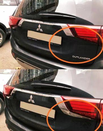Хром тюнинг Mitsubishi Outlander 3
