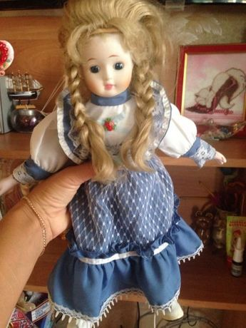 Кукла керамика