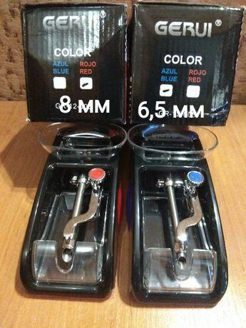 """Машинки """"Gerui""""GR-12-005 для сигаретных гильз 8мм,СЛИМ6.5мм для табака"""