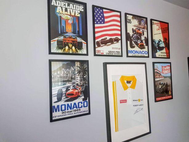 Plakaty GP Formuła 1 Vintage Posters F1
