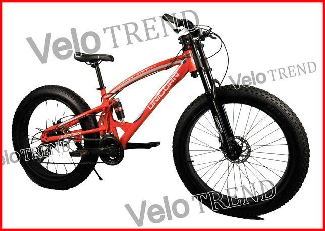 Горный велосипед Unicorn фэтбайк Fet-Bike 26″ Рама 17 красный