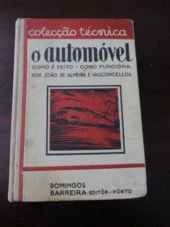 Livro O Automóvel Domingos Barreira nº 1 coleção técnica