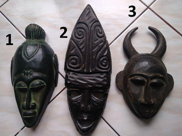 Maska drewniana różne