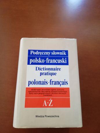 Podręczny słownik polsko-francuski
