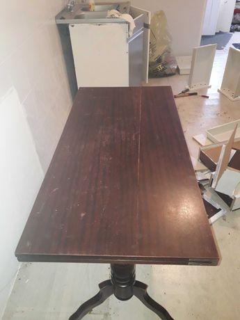 Stół  rozkladany ciemny brąz