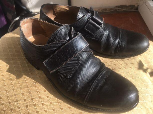 Туфли кожаные, Италия, 33 - 34 размер, стелька 22 см