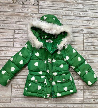 Красивая деми курточка на 5-6 лет