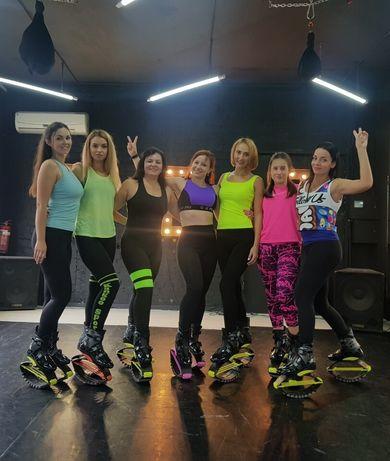 Тренировки Kangoo Jumps в центре Днепра, программа Kangoo Power