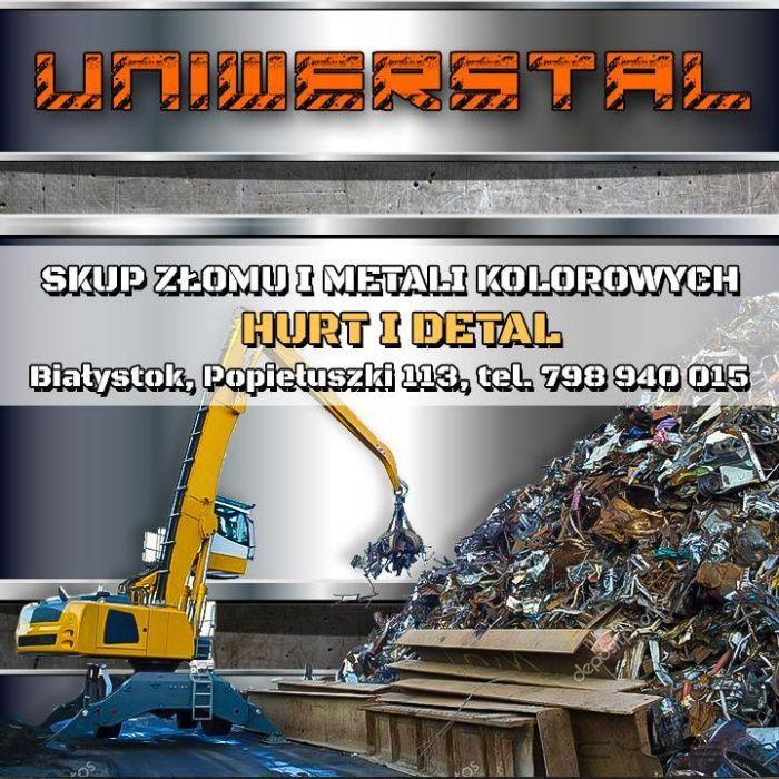 SKUP ZŁOMU i METALI KOLOROWYCH, Złomowanie Pojazdów, Auto części Białystok - image 1