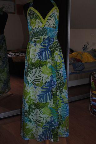 letnia sukienka maxi, rozmiar XL