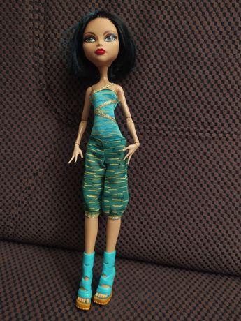 Cleo, monster high, lalka barbie