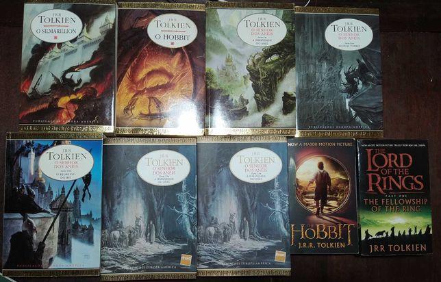 Livros Senhor dos anéis, Tolkien