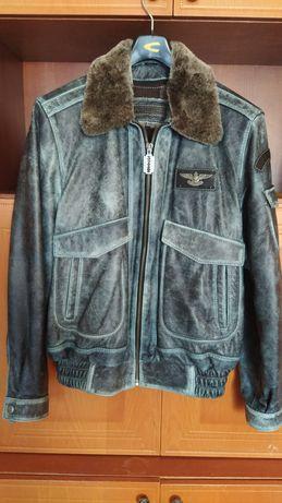 Новая зимняя кожаная куртка