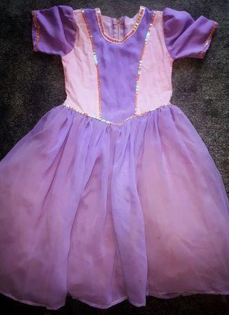 Przebranie suknia królewny 5-7 lat