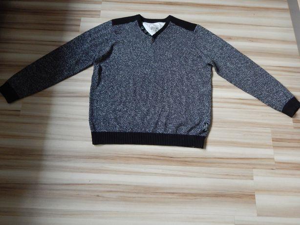 Sweter męski melanż BDB