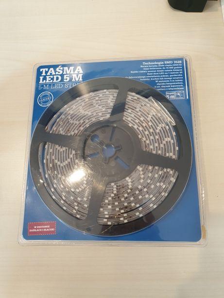 Taśma LED 5 m biała