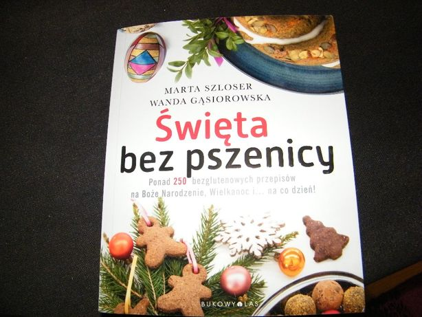"""Książka """"Święta bez pszenicy"""""""
