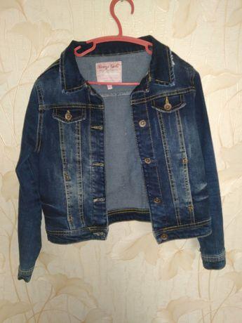 Джинсовий костюм : джинси, джинсовий піджак, спідниця