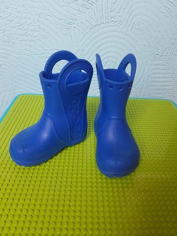 Crocs (крокс) сапоги резиновые размер С 6