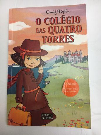 Livro O Colégio das Quatro Torres