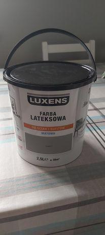 Farba Luxens do ścian i sufitów 2,5 l