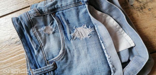 Spodenki szorty jeansowe dżinsowe M