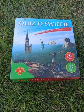"""Gra planszowa """"Quiz o świecie"""""""