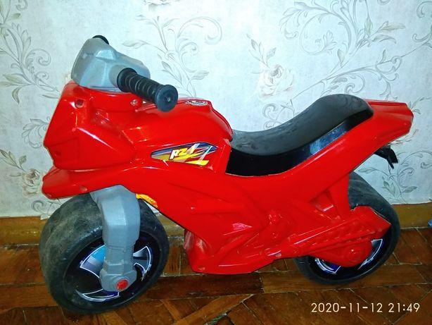 Продам мотоцикл-толокар