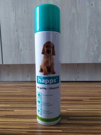 Aerozol/spray na pchły i kleszcze Happs