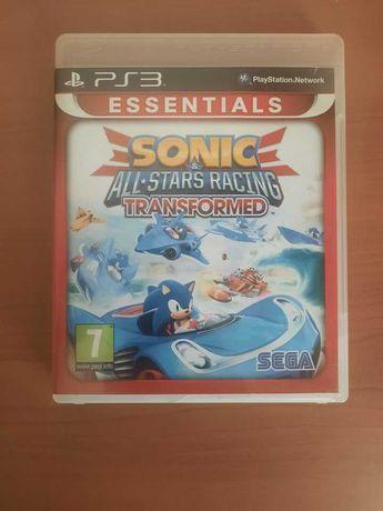 Jogo PS3 Sonic All Stars Racing Transformed