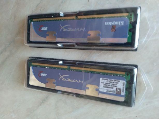 Игровая память с радиатором Kingston HyperX DDR2 2Gb 800MHz PC2 6400U