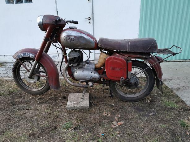 Jawa CZ 175 typ 450 rok produkcji 1960 KOLEKCJA MOTOCYKLI