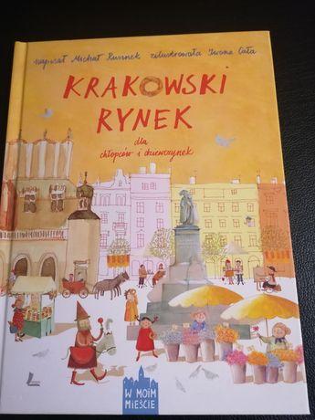 Książka Krakowski Rynek dla chłopców i dziewczynek