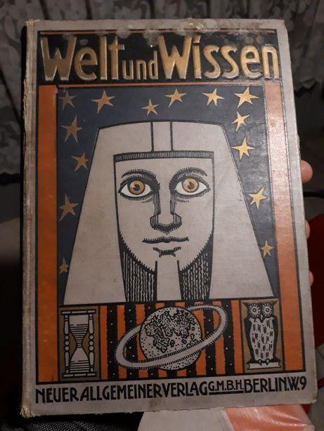 1905r Welt und Wiessen - G.Temps. Stara książka antyk