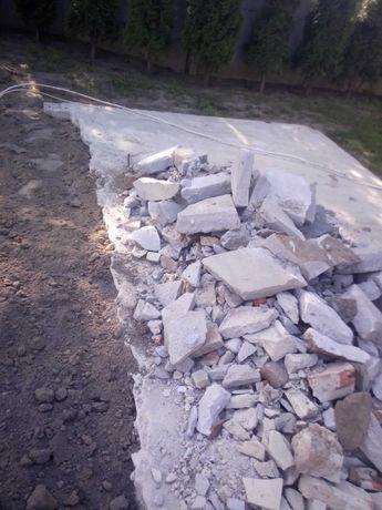 Gruz  . trochę betonu trochę kamienia i